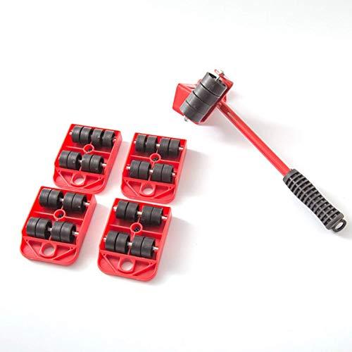 PILIBEIBEI Hochleistungsmöbelheber mit 4 Schiebern für einfaches und sicheres Bewegen, Gerätewalze geeignet für Sofas, Sofas und Kühlschränke -