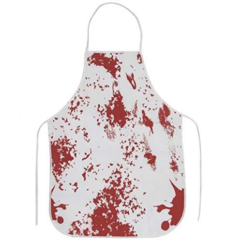 Delantal Terror Bloody Murder Halloween BBQ Kitchen