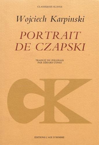 Portrait de Czapski