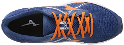 Mizuno Wave Ultima 6, flâneurs homme Blau (dark Blue/vibrant Orange/white)