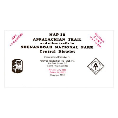 At Map Shenandoah Central, A.t.c., Publisher  Ap Trail #126 by AP TRAIL CONSERVANCY Picture