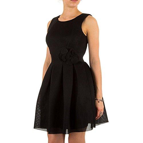 Damen Kleid, RINASCIMENTO COCKTAIL KLEID, MKL-640900 Schwarz