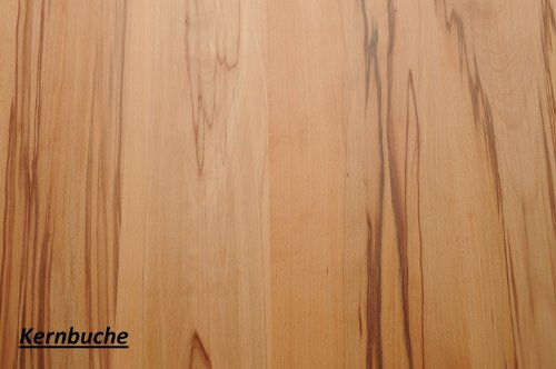 Wandbord Wandboard Design Livingboard Regal massiv Holz - verschiedene Holzarten wählbar - Tiefe:20cm Dicke:25mm (Kernbuche, 50cm)