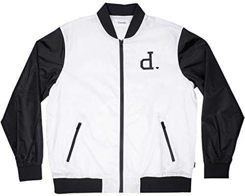 Diamond Supply Co. - Herren Un Polo Bomberjacke Light Grey/Black