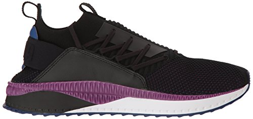 PUMA Men s Tsugi JUN CLRSHFT Sneaker Black-Sodalite Blue-Phlox  9 M US