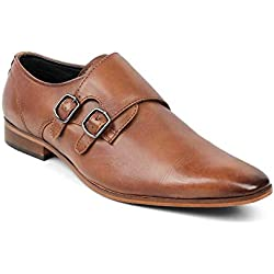 tresmode Men's TAN Formal Shoes