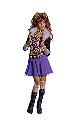 Howleen Halloween Costume Loup - Clawdeen Loup filles