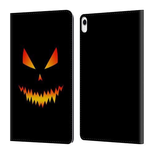 Head Case Designs Offizielle PLdesign Jack O Lantern Halloween Leder Brieftaschen Huelle kompatibel mit iPad Pro 11 (2018)