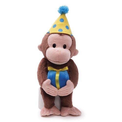 Gund Curious George Dressed für EIN Geburtstag 35,6cm Plüsch - Spielzeug Der George Affe