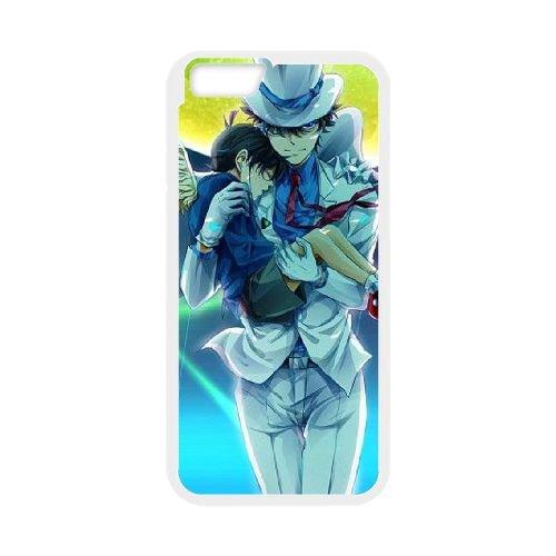 Detective Conan coque iPhone 6 4.7 Inch Housse Blanc téléphone portable couverture de cas coque EBDXJKNBO10346