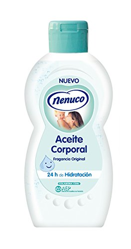 Nenuco Aceite corporal Hidratante para Bebé fragancia Original 400ml