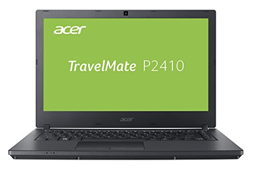 Acer E 14 Laptop (Acer TravelMate P2410 TMP2410-G2-M-5260 35,6 cm (14 Zoll Full-HD IPS matt) Notebook (Intel Core i5-8250U, 8GB RAM, 256GB SSD, Intel UHD, Linux) schwarz)