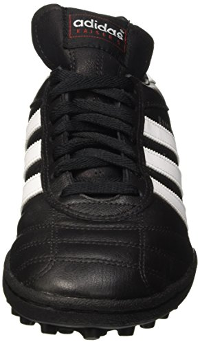 adidas Kaiser 5 Team, Chaussures de football mixte adulte Noir (Black/Running White Ftw)