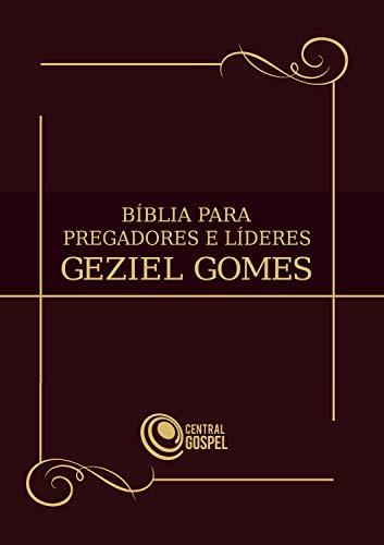 Bíblia para pregadores e líderes (Portuguese Edition)