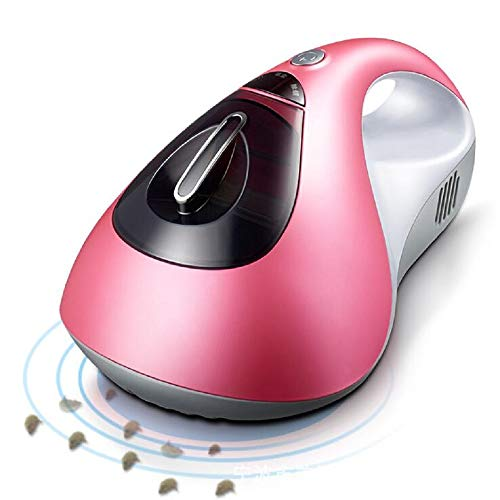 YIN QM Anti-Dust Mites Filtración con aspiradora UV y Doble succión de Gran Alcance Elimina ácaros, chinches y alérgenos para colchones, Almohadas, sofás de Tela, alfombras