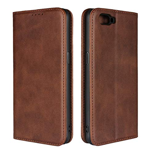 Custodia® Flip Brieftasche Hülle für Oppo R15 Neo(Muster 2)
