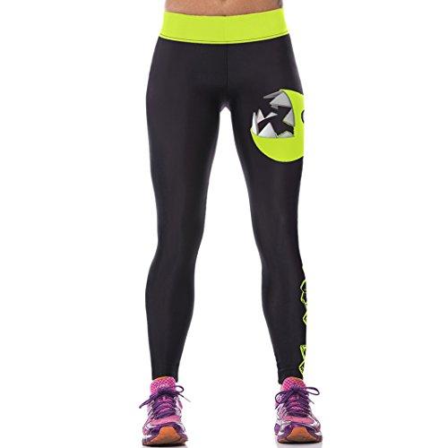 Sasairy-Donna-Sport-Pantaloni-Full-Length-Leggings-non-Pantaloni-Collant-Elastico-ci-si-Vede-Attraverso-Fitness-Workout-Yoga-in-Esecuzione-Hipster-Usura-Esterna-Palestra-EU-32-38-Colore-005