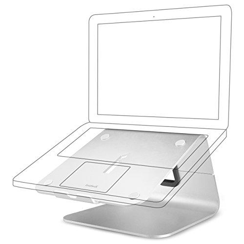 Inateck iStand Ständer aus Aluminum für Notebooks, Laptops, Docking Stations und das MacBook Pro 11 bis 17 Zoll