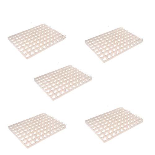 perfk 5 Stück Ersatz 88 Eier Tablett für Hühnereier Inkubator Brutkasten Brutmaschine -