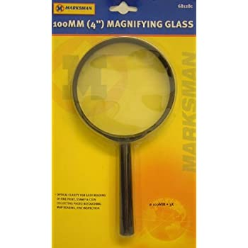 Kids Fun Toy Outdoors 90mm rim Henbrandt JUMBO Powerful Magnifying Glass