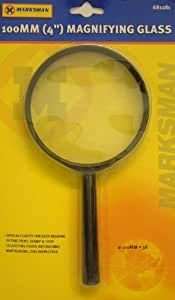 "100MM (4"") Hand Held 3x Magnifying Glass"
