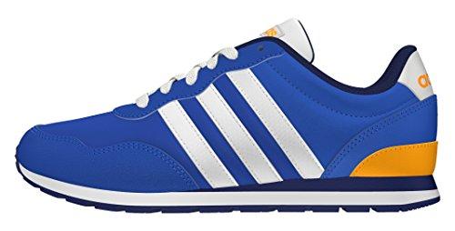 adidas V Jog K, Chaussures de Sport Garçon, Bleu, 28 EU Bleu (Bleu / Ftwbla / Dorsol)