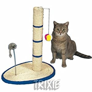 Scratch Me Cat Scratcher With Toys by Trixie