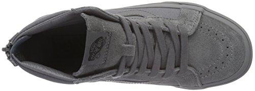 Vans Sk8-Hi Reissue Zip, Sneakers Hautes Mixte Adulte Gris (Mono tornado)