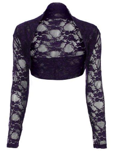 Likes Style - Boléro -  Femme Violet - violet