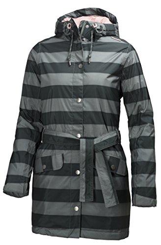 Helly Hansen Lyness Insulated Coat cappotto da donna W, Rock Stripe, XS, 62462_899