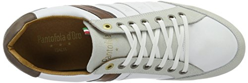 Pantofola d'Oro Allassio Uomo Low, chaussons d'intérieur homme Blanc (Bright White)