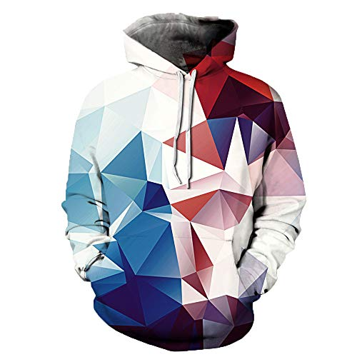 (Pullover Liebt Beiläufige Herbst Winter 3D Printing Streetwear Long Sleeve Hoodies Sweatshirt Bluse SANFASHION)