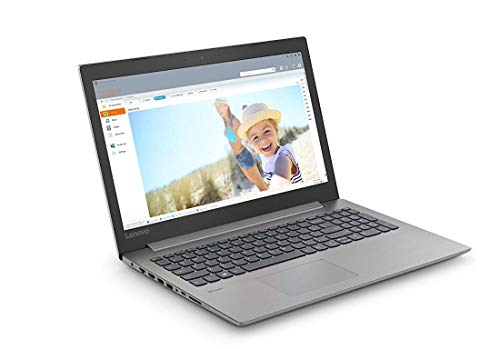 "Lenovo ideapad 330-15IKB - Ordenador Portátil 15.6"" HD (Intel Core i3-7020U, RAM de 4GB, 128GB SSD, Intel HD Graphics 620, Windows 10 Home) Gris - Teclado QWERTY Español"