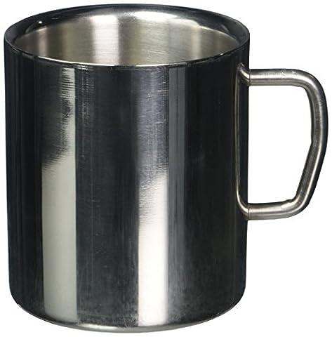 LIKECAR 220 ml Acier inoxydable Coffee Cup Beer Mug Tumbler Camping Tasse Cappuccino Cups Double mur Drinkware