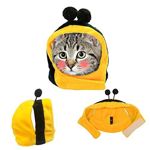 NIBESSER Haustier Kostüm für Hund Katze Hut Kostüm Kleidung Special Pet Hat Halloween, Party Kostüm