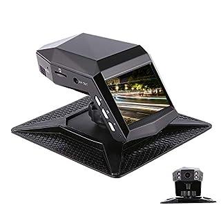 Dashcam 1296P Auto Dash Cam Kfz Kamera Sony Sensor Autokamera 140 Weitwinkel 2