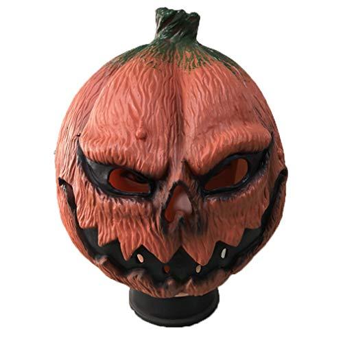 AND Karneval Halloween Neue Kürbis Mann Maske Geburtstag Party Bar Party beängstigend Facebook DIY Requisiten (Beängstigend Diy Halloween Requisiten)