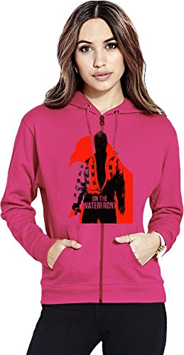 on the waterfront Womens Zipper Hoodie X-Large - Dugan Design
