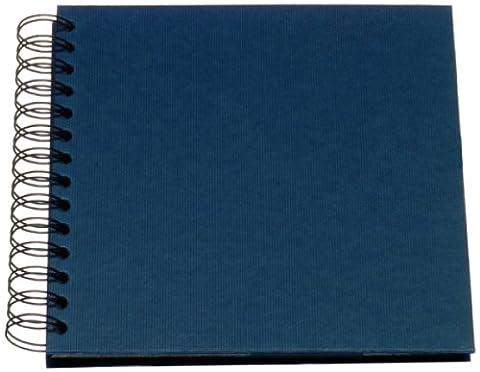Rössler 1329452905 Spiral-Fotoalbum (18 x 18), Unifarben navy