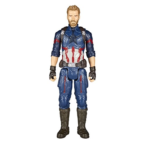 Unbekannt Avengers Titan Hero Power FX Captain America mit Power FX Pack