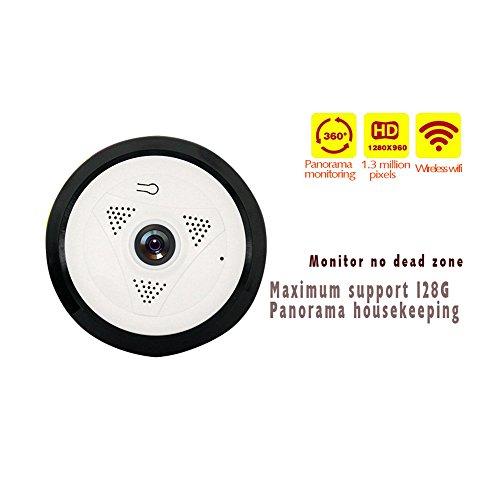 ip cam Security intercom 2-Way Audio wireless Überwachung Cam Alert Information for PC Ipad, IP-Kamera 960P HD ECK10--16