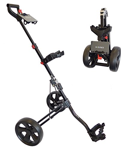 Cruiser Golf CR-Micro Compact Lightweight 2 Wheel Trolley