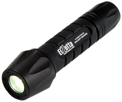 elzetta zfl-m60-sf2d Tactical Waffe LED Taschenlampe mit Flutlicht Standard-Objektiv Blende, 2-zelligen, Click High/Low Tail Cap