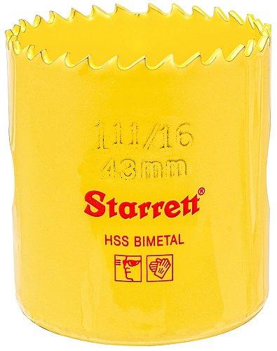 Starrett H043 Scie trépans bimétal Ø 43 mm