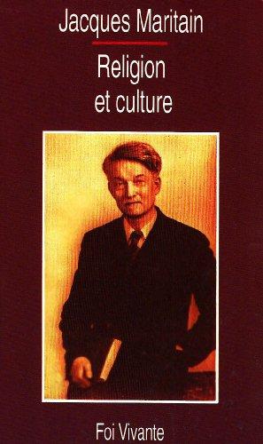 Religion et culture par Jacques Maritain