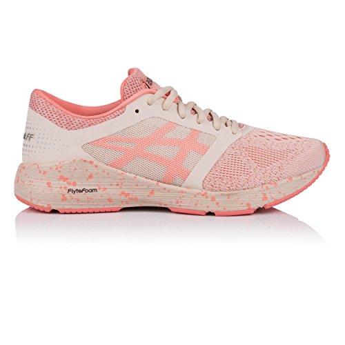 info for 15bc6 942eb ASICS Roadhawk FF Sakura Chaussures de Course à Pied pour Femme, Rose, 37