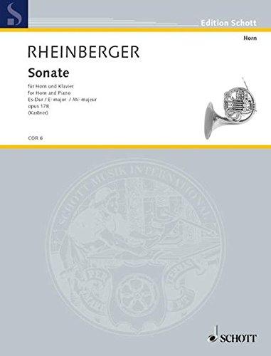 Sonate für Horn und Klavier Es-Dur opus 178 | Rheinberger, Joseph (1839-1901)