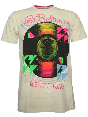 LORD BALTIMORE Herren Designer Shirt - KEEP IT FUNKY -S -