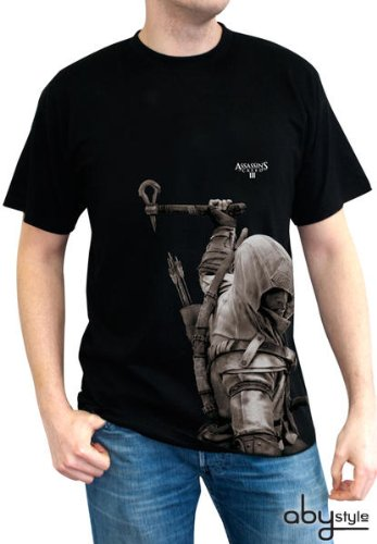 Assasins Creed 3 - Connor T-Shirt Gr. L Tee Original und Lizensiert (Anime (Cosplay Kostüm Connor)