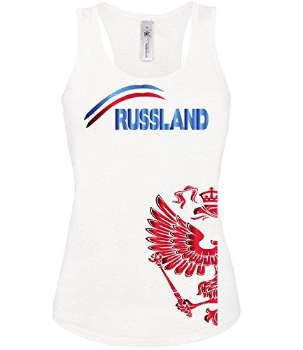 FUSSBALL - RUSSLAND FANSHIRT 3205(TT-F) Gr. M